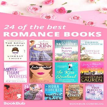 We love books with romance, so check out our list of 24 incredible romance books. Great for your 20