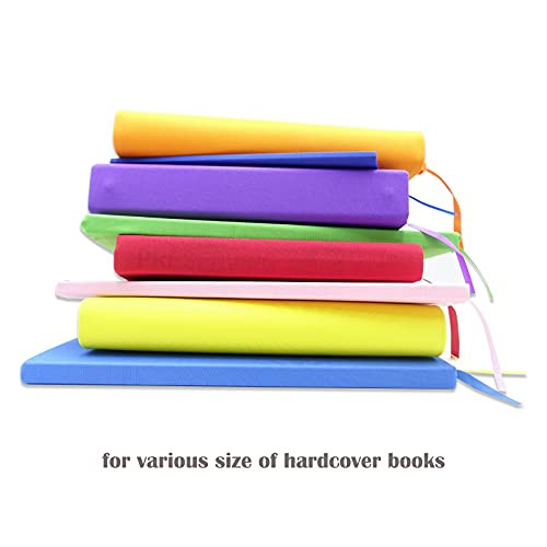 Stretchable Book Covers, Colorful Book Covers for Hardcover